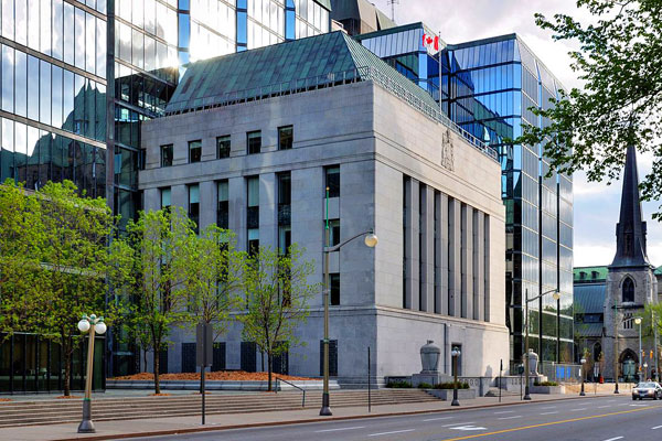 Bank of Canada makes rate announcement