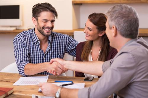 Home Buyers - Client Handshake