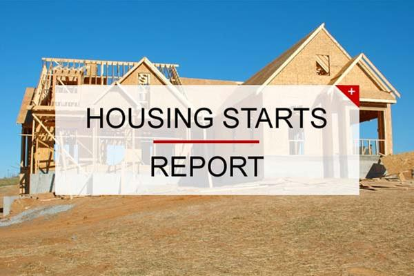 Canadian housing starts trended lower in December