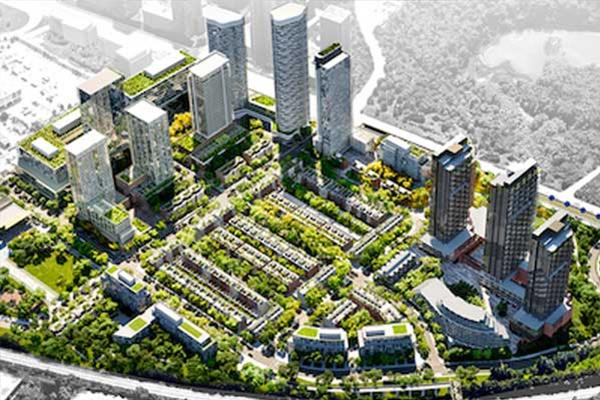 Aspen Ridge unveils plan for 60-acre Toronto Crosstown