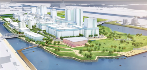 Port Lands: New downtown Toronto neighbourhood